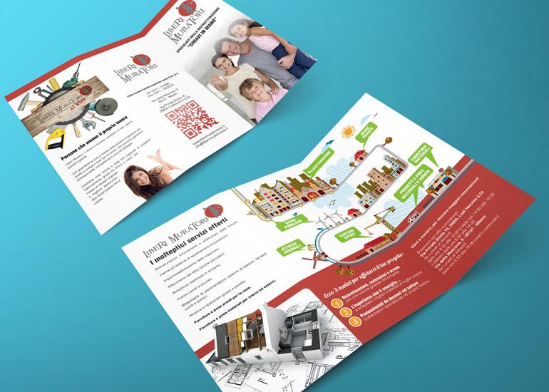 Brochure presentazione cooperativa edile