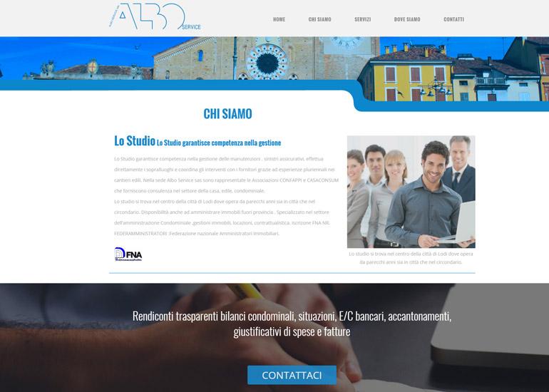 Realizzazione sito web azienda gestione condomini