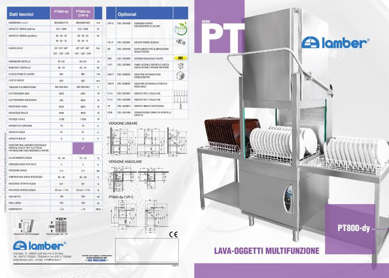Depliant di presentazione realizzato da Grazioli Design