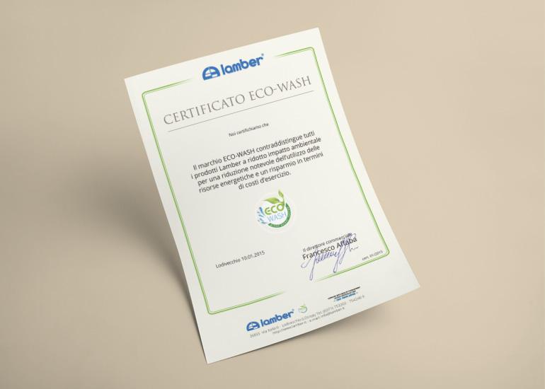 Realizzazione grafica per certificato di impatto ambientale