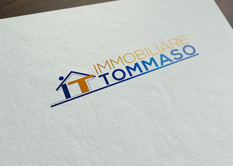 Logo agenzia immobiliare realizzato da Grazioli Design