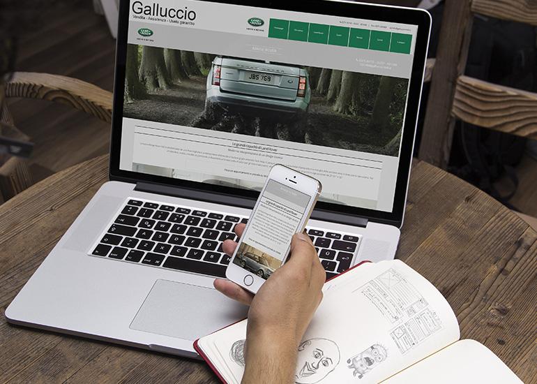 Immagine sito web Galluccio Auto