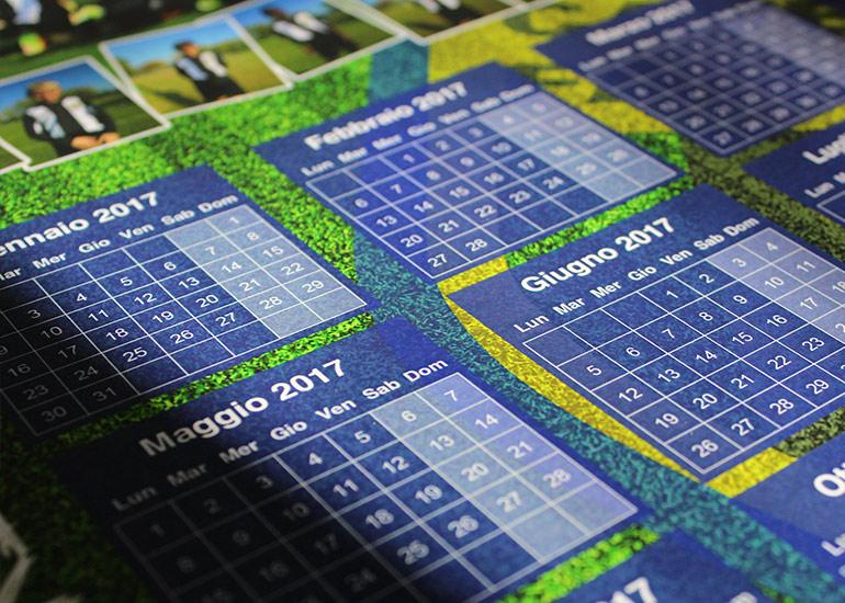 Realizzazione e stampa calendario personalizzato 2