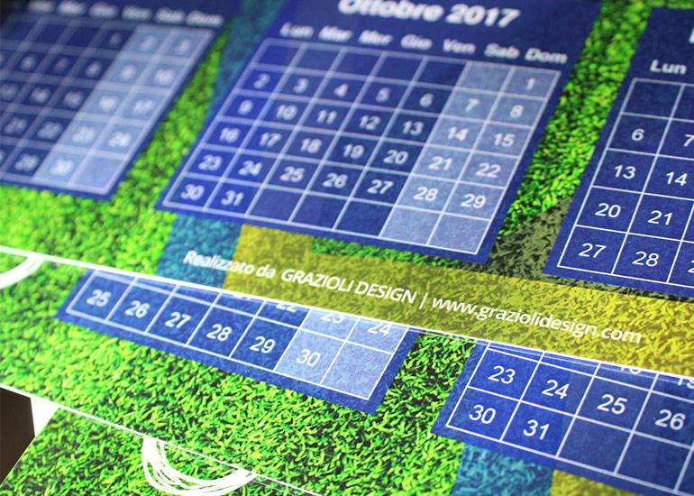 Realizzazione e stampa calendario personalizzato 5