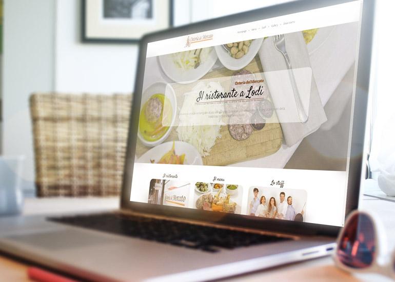 Immagine sito web Osteria del Mercato