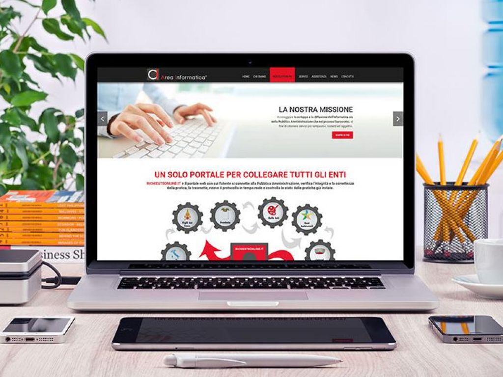 Realizzazione sito web Area Informatica