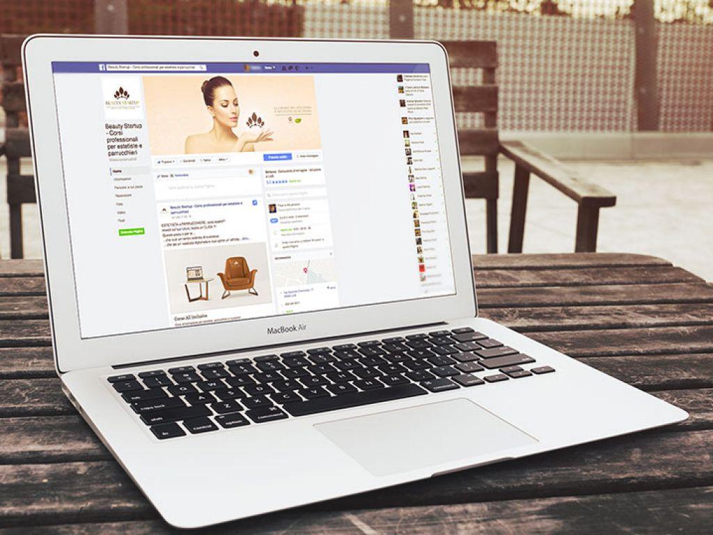 Gestione social network attività commerciale Beauty startup