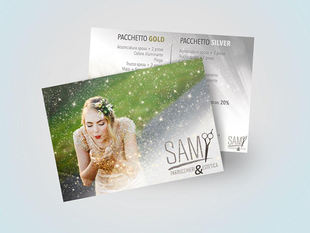 Brochure e biglietti da visita per centro estetico