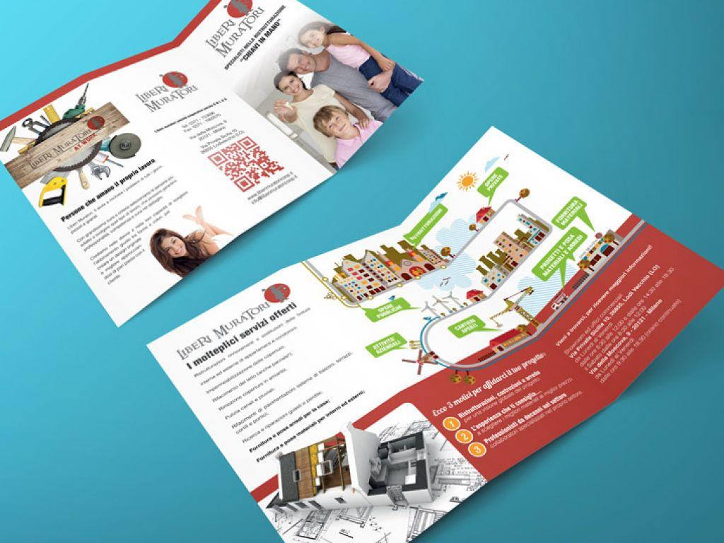 Brochure per cooperativa edile