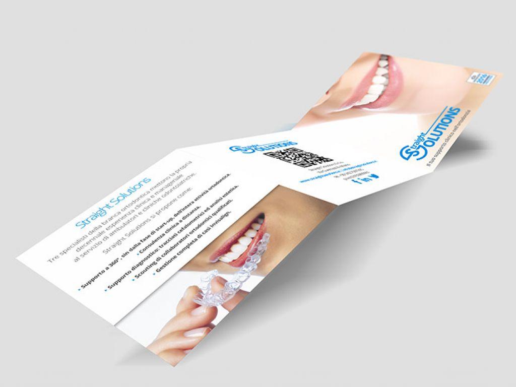Brochure per azienda odontoiatrica