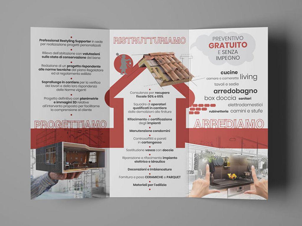 Restyling brochure Liberi Muratori