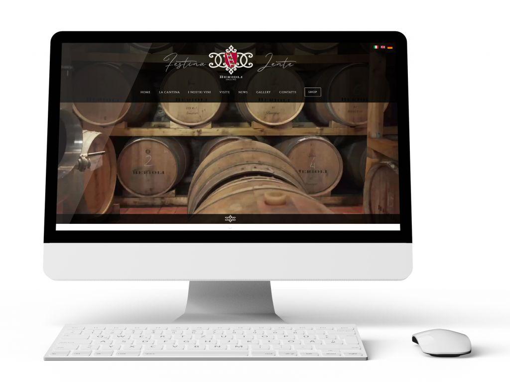 Realizzazione e-commerce per cantina agricola Berioli
