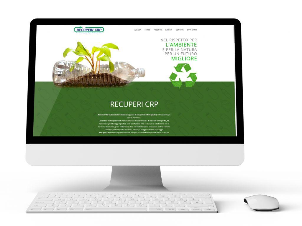 Realizzazione landing page recupero plastica