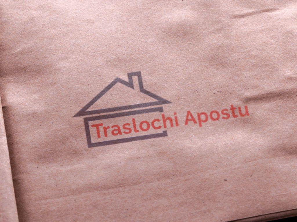 Realizzazione logo aziendale traslochi