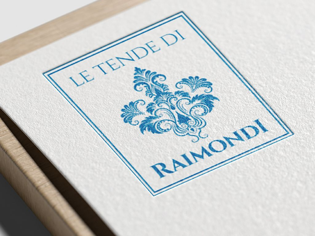 Realizzazione logo aziendale tende di Raimondi