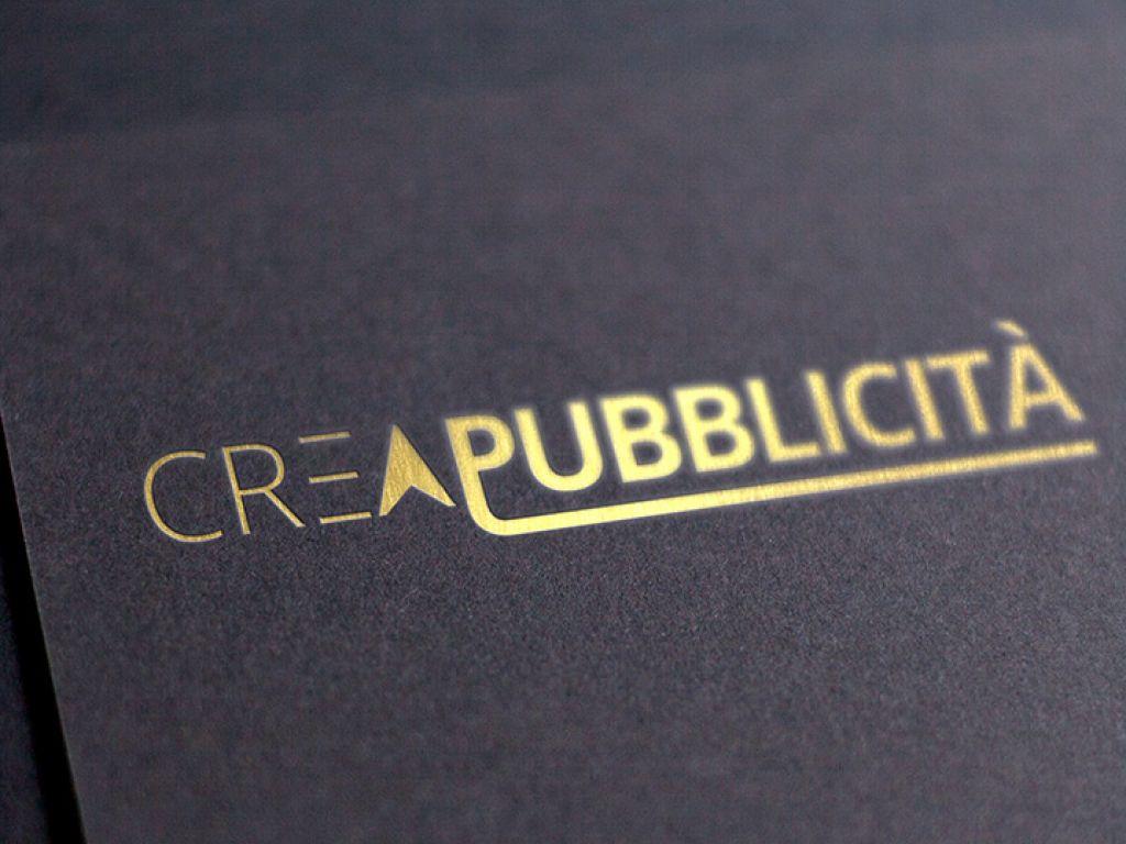 Realizzazione logo aziendale Crea pubblicità.
