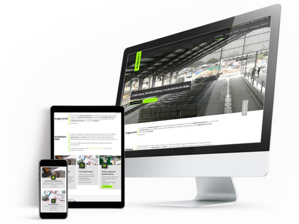 Realizzazione sito web custom ASGENCO