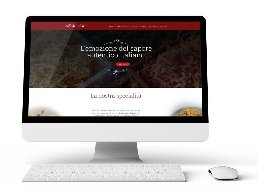 Realizzazione sito web Agriturismo la Barchessa