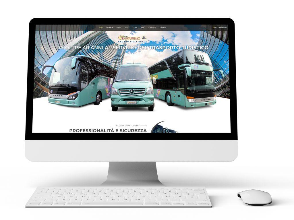 Realizzazione sito web trasporti turistici