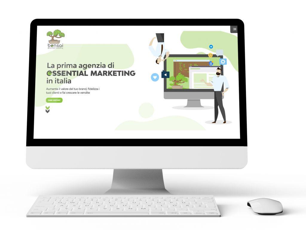 Realizzazione sito web dinamico Bensai
