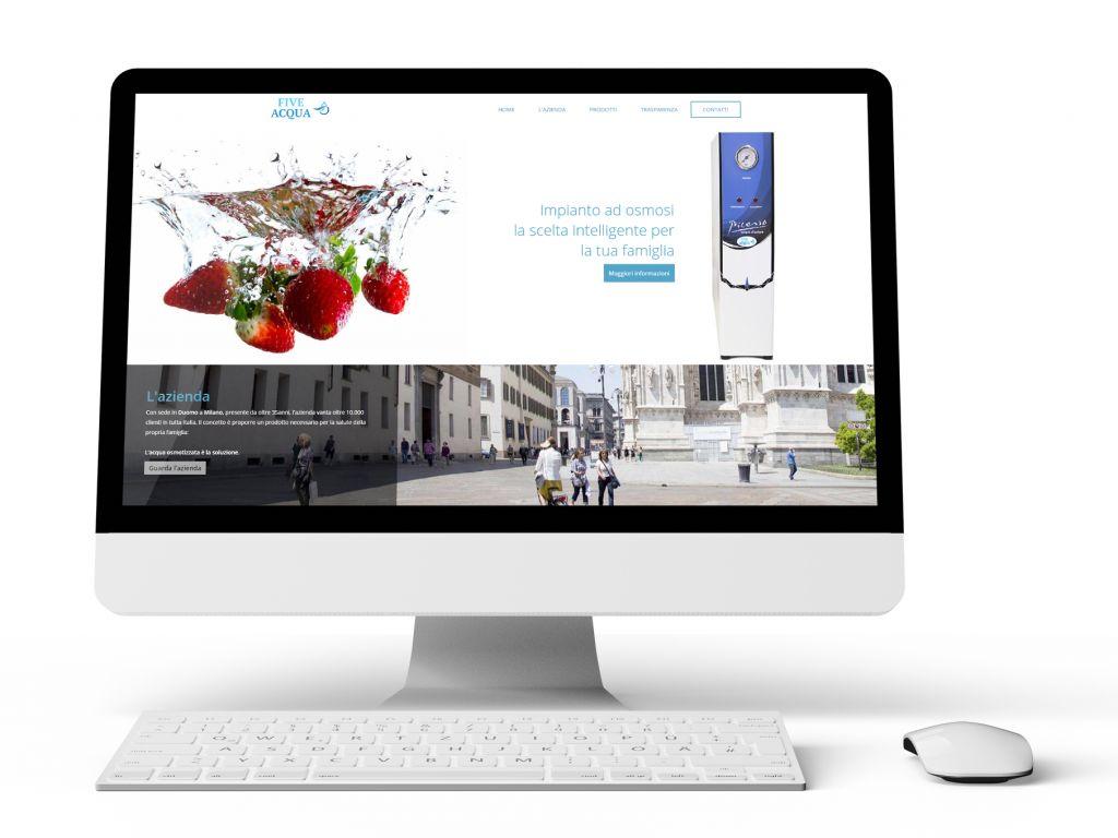 Realizzazione sito web per produttori depuratori di acqua