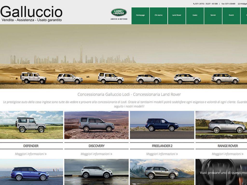 Sito web per concessionaria d'auto
