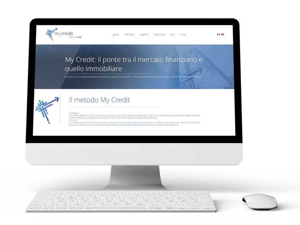 Realizzazione sito web finanziaria e credito