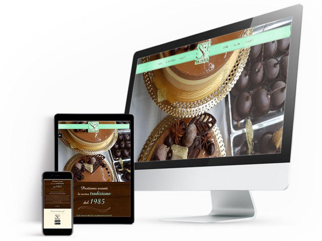 Realizzazione sito web pasticceria