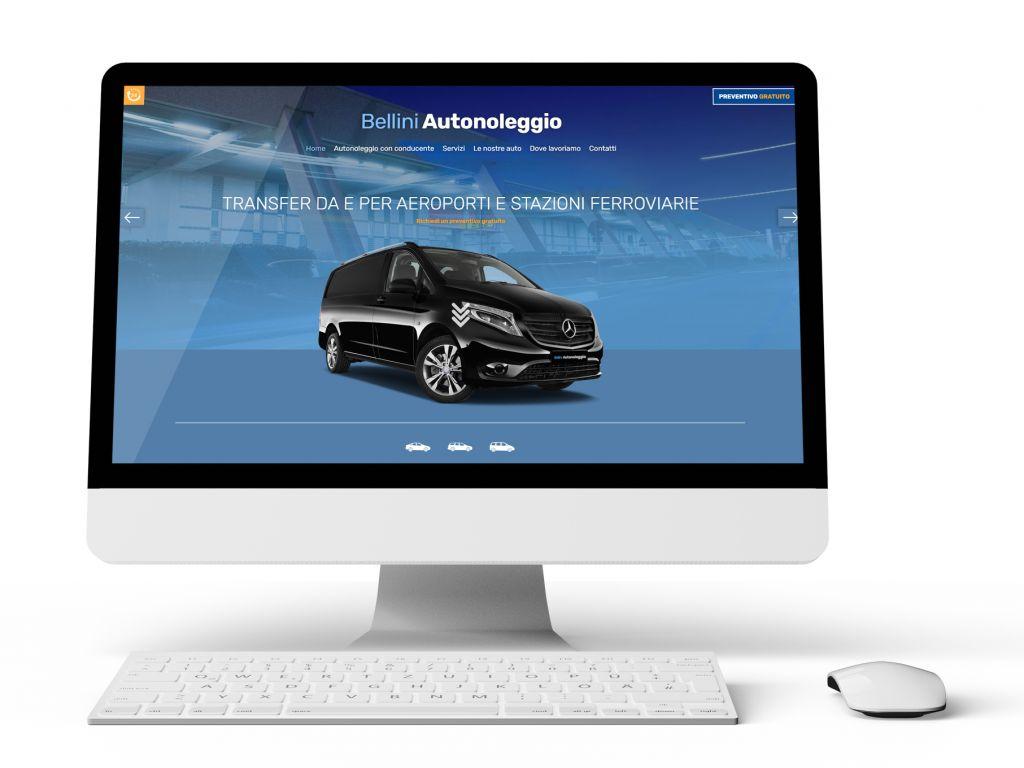 Realizzazione sito web per Autonoleggi
