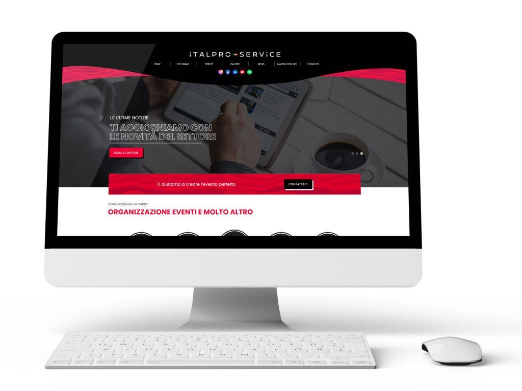 Realizzazione sito web ITALPROSERVICE