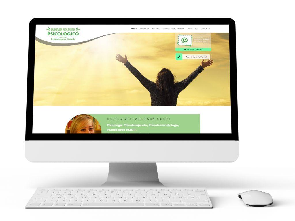 Realizzazione sito web per psicologa