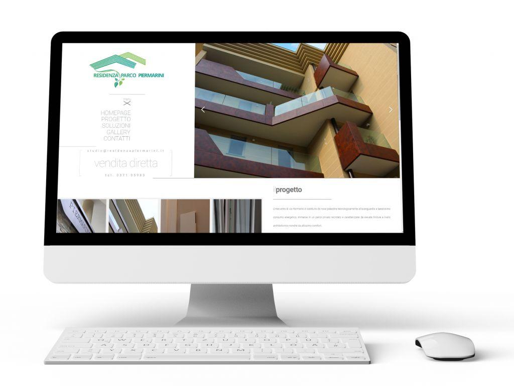 Realizzazione sito web per residenza Parco Piermarini