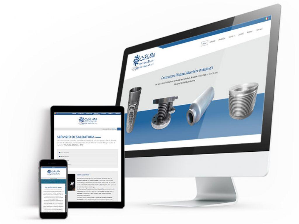 Realizzazione sito web con area riservata