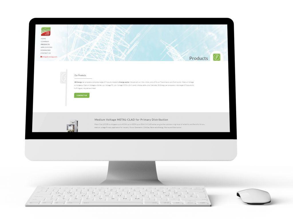 Realizzazione sito web per produttore di quadri elettrici industriali