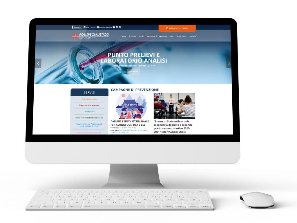 Realizzazione sito web studio medico