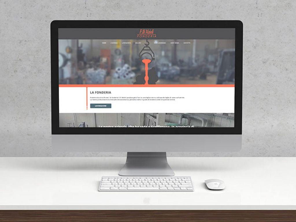 Realizzazione sito web fonderia