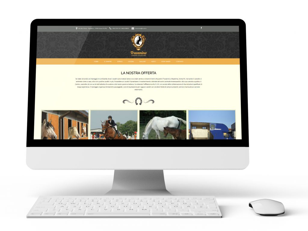 Realizzazione sito web centro equestre