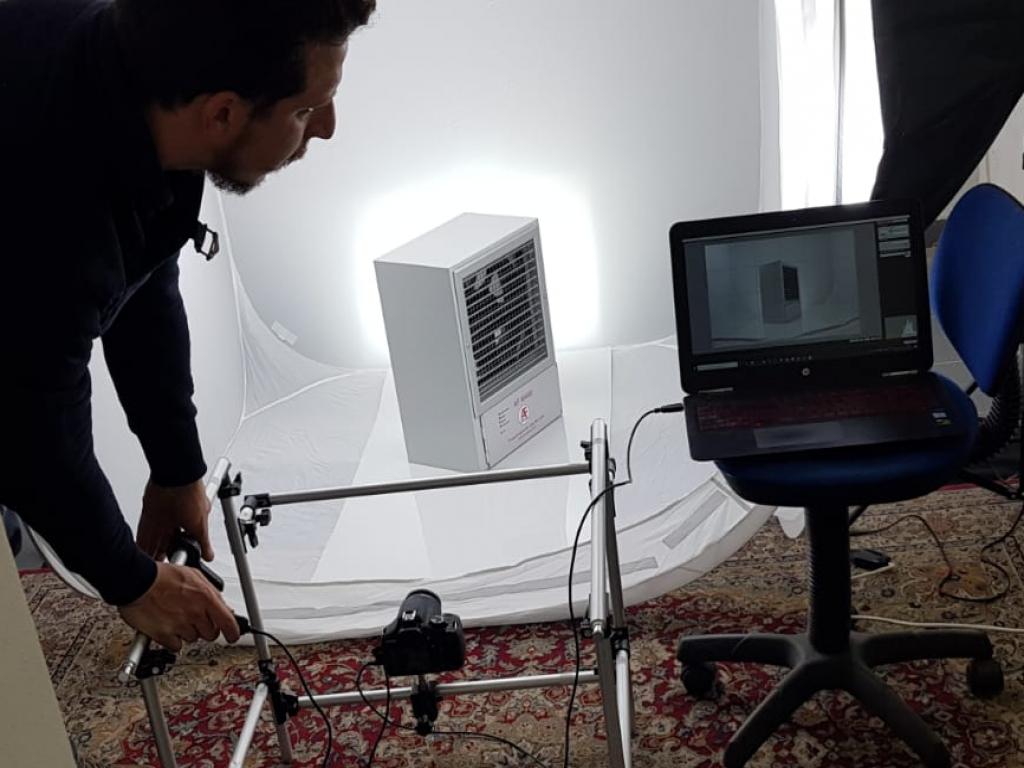 servizio fotografico a 360 gradi