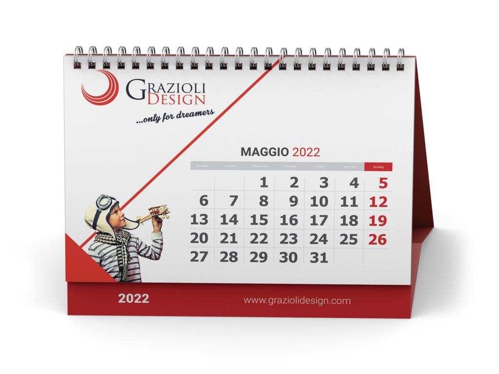 Realizzazione calendario personalizzato